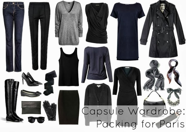 paris what to wear to pack fashion