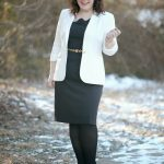 What I Wore: Ivory and Black