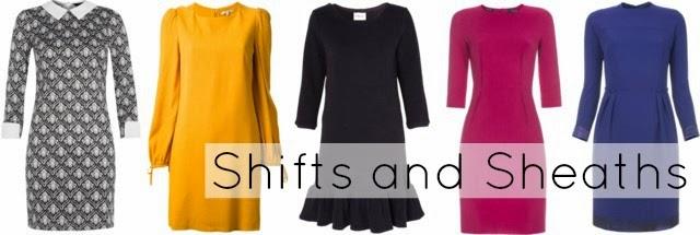 interview shift sheath dress