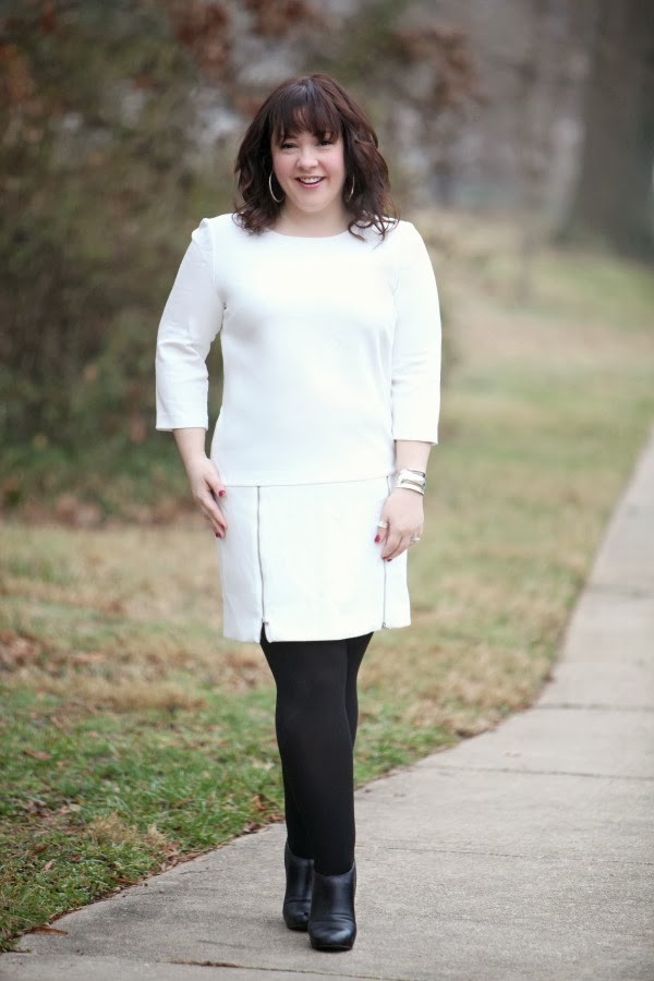 plus size white dress ivory