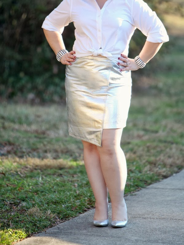 silver leather skirt topshop