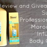 Review and Giveaway: Suave Professionals® Moroccan Infusion Body Care