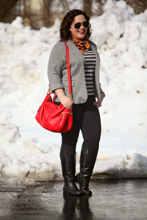 fossil leather bag red erin