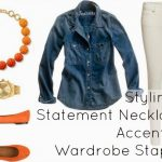 Ask Allie: Styling a Statement Necklace