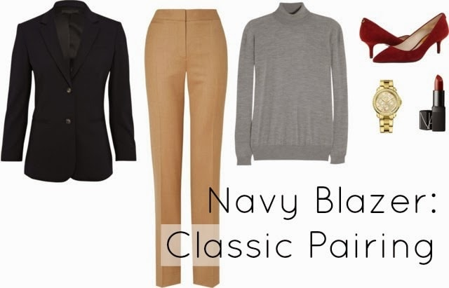 navy jacket what to wear
