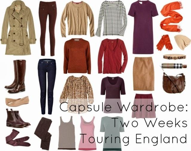 travel england spring pack wear women