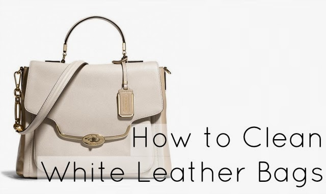 Ask Allie: How to Clean a White or Light Leather Bag - Wardrobe Oxygen