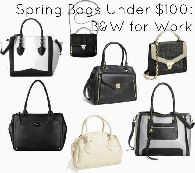 work bag purse under 100 spring