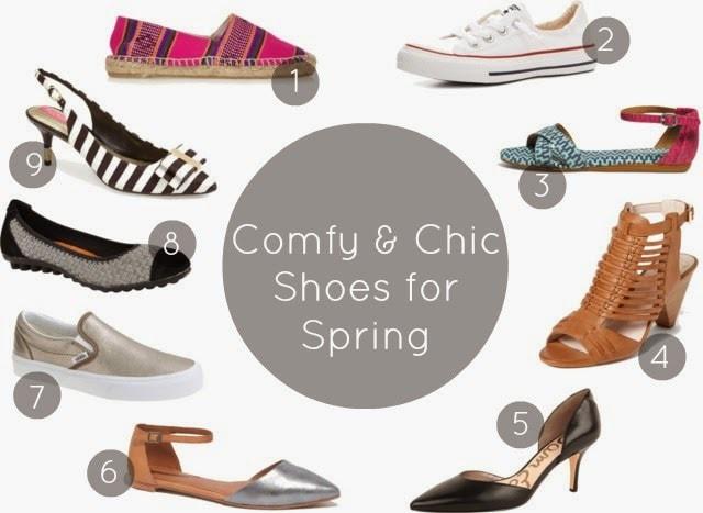 spring 2014 shoe trends comfort