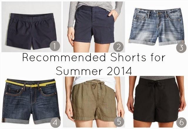 flattering shorts summer women