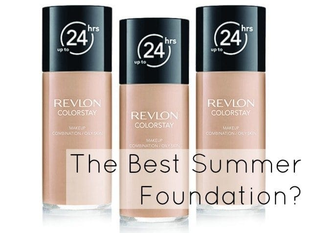 Best Summer Foundation Revlon ColorStay