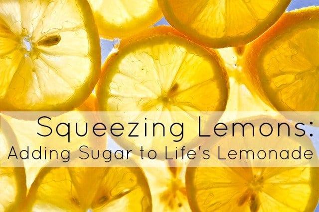 self care when life gives you lemons