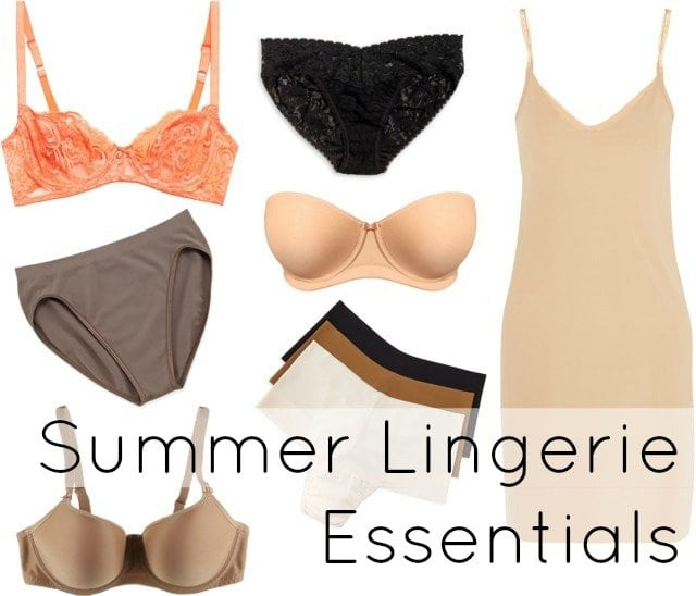 Summer lingerie essentials