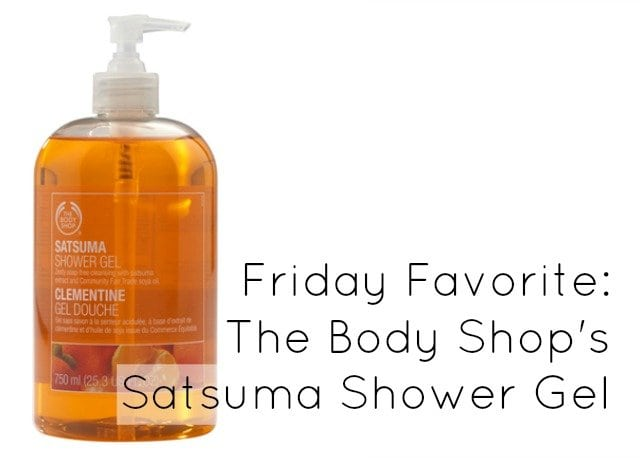 body shop satsuma shower gel