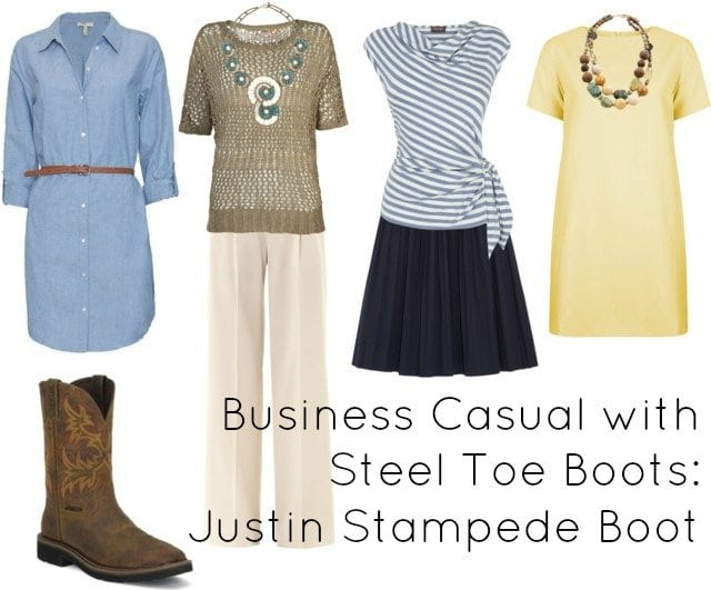 Business Casual With Steel Toe Boots Wardrobe Oxygen
