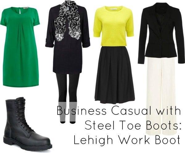 business casual steel toe boot lehigh