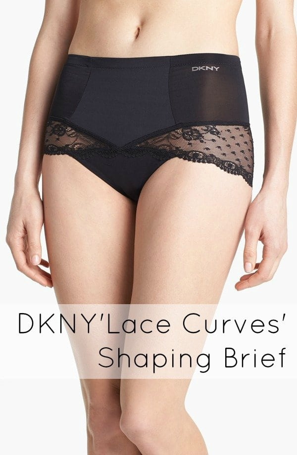 dkny lace curves shaping brief
