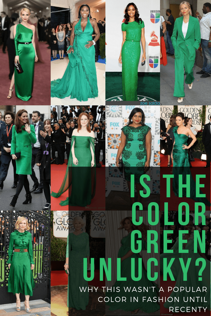 is the color green unlucky green superstition