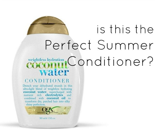 ogx coconut conditioner review