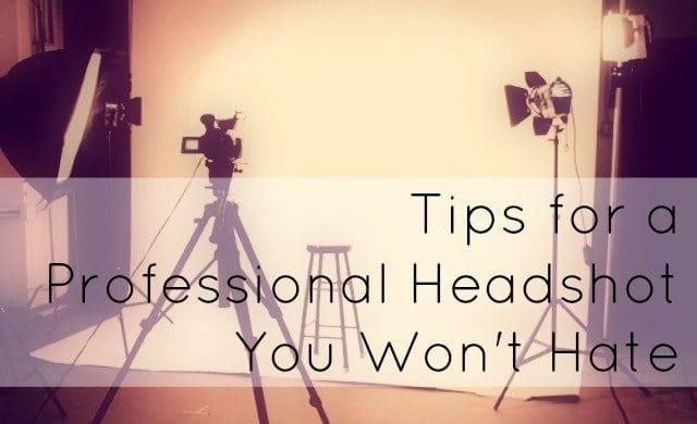 professional headshot tips women