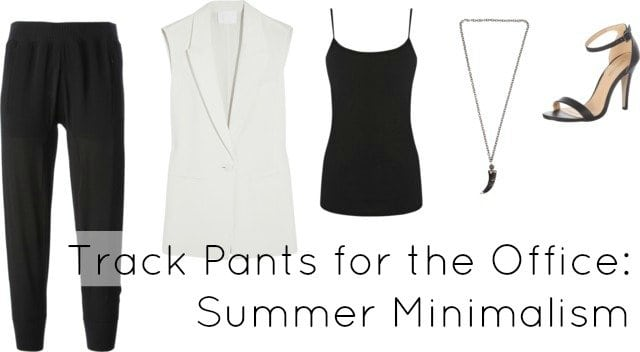 Track Pants Style for Office Work Dress Code