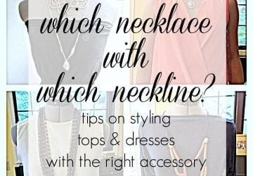 Which Necklace with Which Neckline?