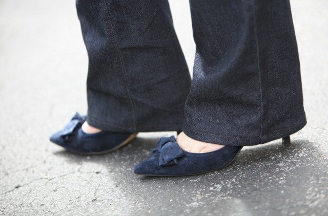 Wardrobe Oxygen What I Wore Sole Society Suede Pumps