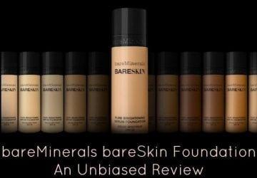 bareMinerals BareSkin Foundation: An Unbiased Review