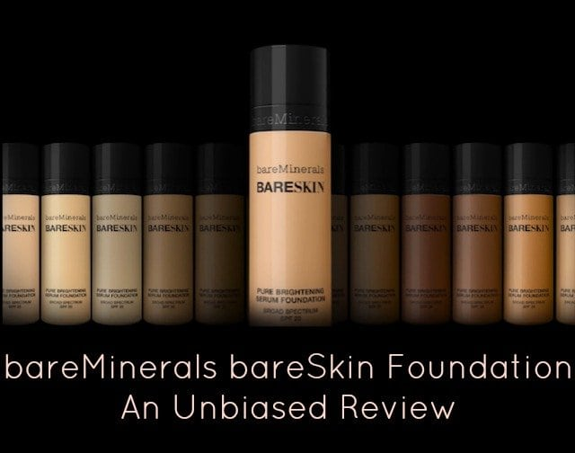 bareMinerals bareSkin Foundation: An Unbiased Review