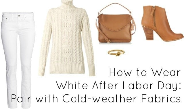 how to style white after labor day