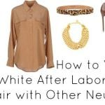 Ask Allie: White After Labor Day