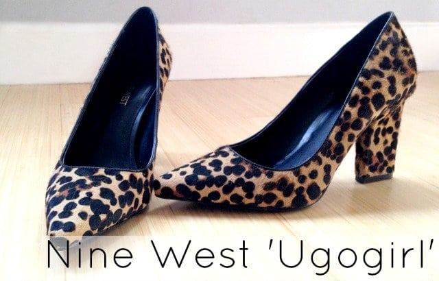 nine west ugogirl calfhair leopard