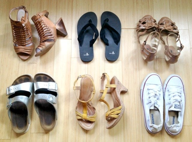 popular summer shoes