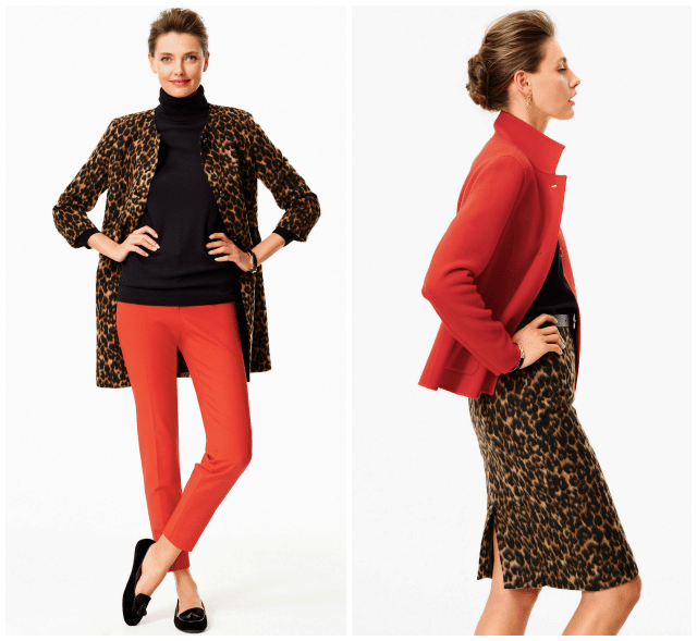 talbots 2014 lookbook animal jacquard