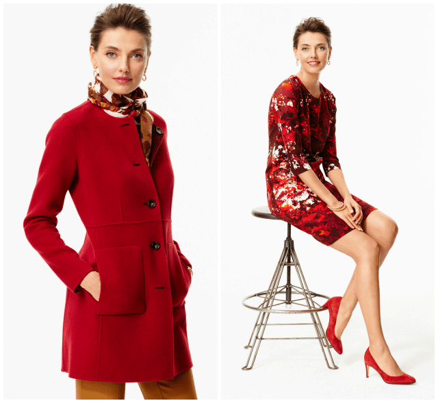 talbots fall 2014 lookbook crimson jacket