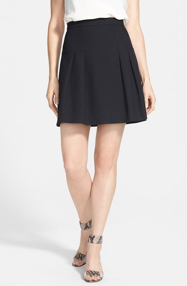Halogen Varsity Pleat Skirt