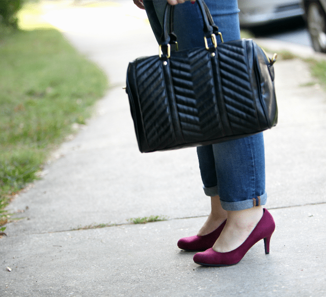 Wardrobe Oxygen What I Wore #Payless #StyleMeetsComfort
