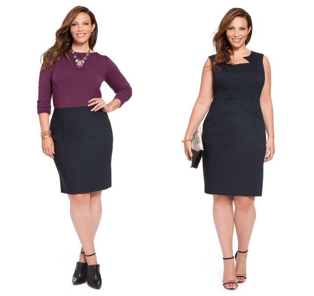 eloquii plus size suiting collection