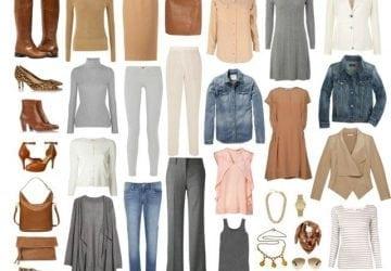 Ask Allie: Feminine Capsule Wardrobe of Neutrals