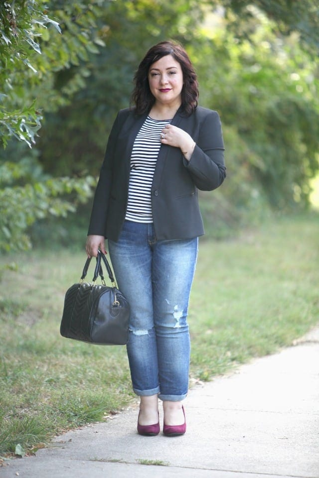 wardrobe oxygen what i wore payless stylemeetscomfort