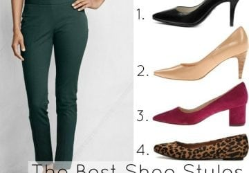 Ask Allie: What Shoes Look Best with Ankle Pants?