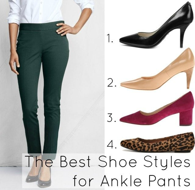 Best Shoes With Ankle Pants For Plus Size