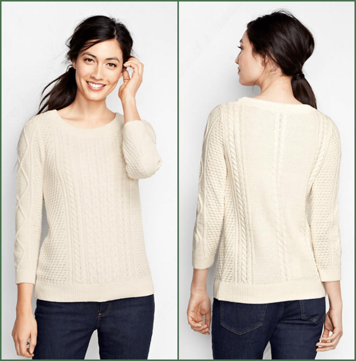 lands end lofty sweater