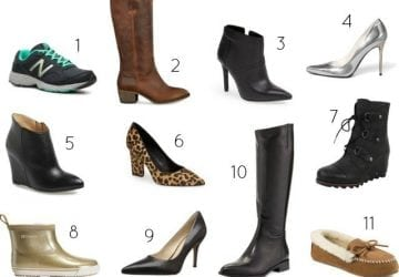 My Must-Have Shoes for Fall and Winter