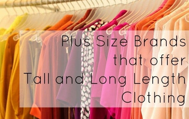 plus size tall long clothing retailers for women
