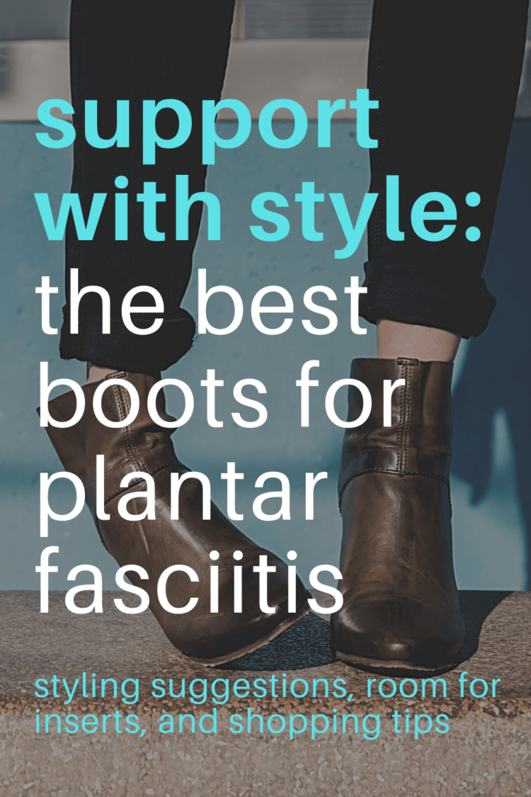the best boots for plantar fasciitis