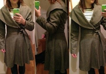 Ask Allie: What Scarf with a Wrap Coat?
