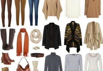 Capsule Wardrobe: Skinny Jeans for Winter