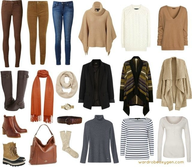 capsule wardrobe casual winter skinny jeans cold weather