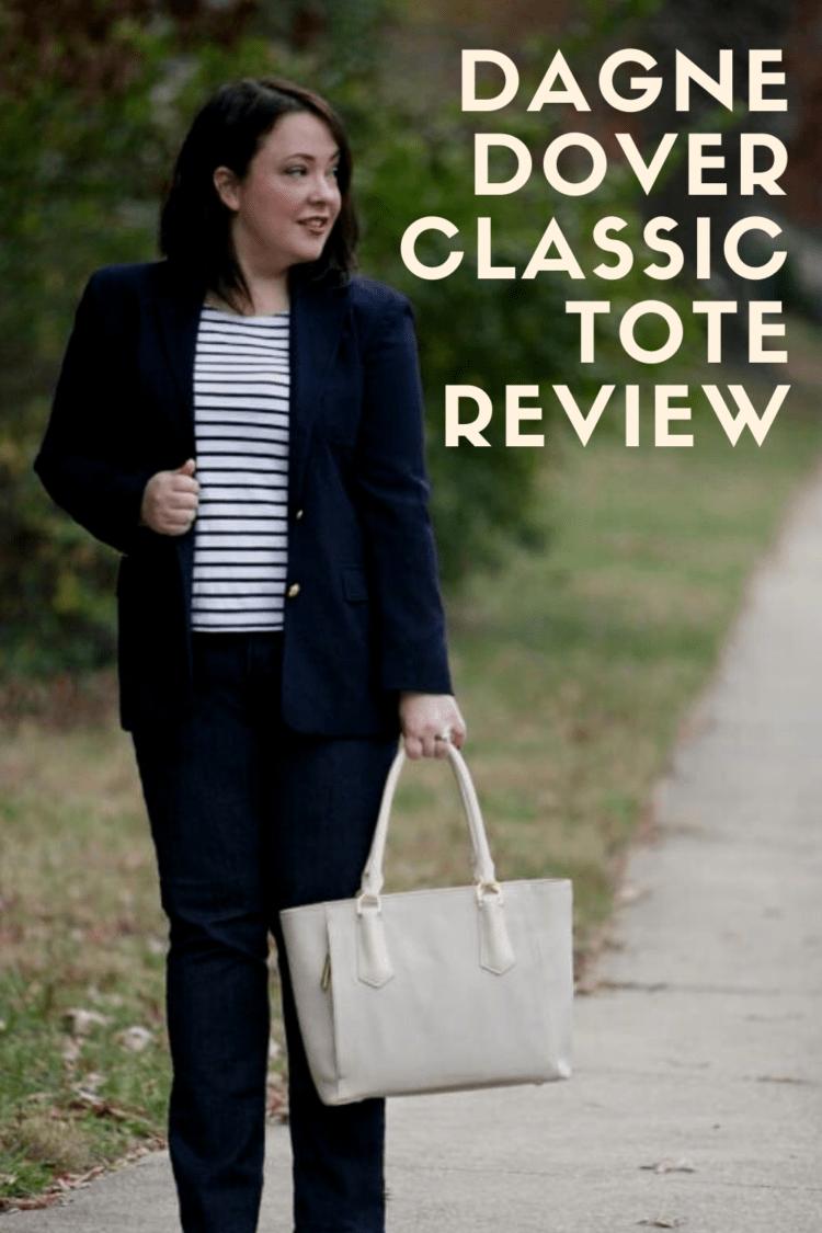 dagne dover classic tote review